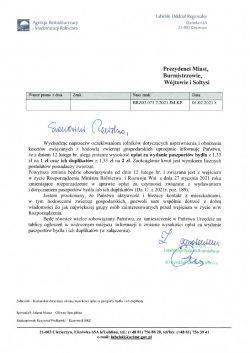 Zmiana opłat za wydanie paszportu bydła i duplikatu-ARiMR